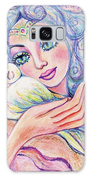 Angel Of Tranquility Galaxy Case