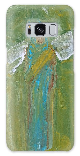 Angel Praise And Worship Galaxy Case