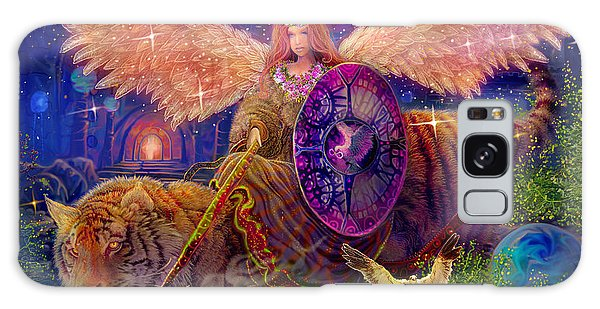 Angel Tarot Card Angel Fairy Dream Galaxy Case by Steve Roberts