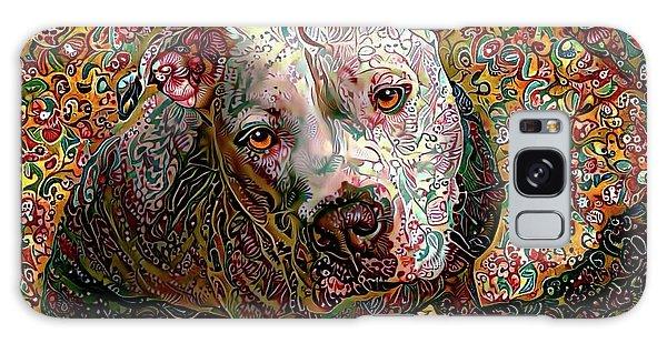Angel The Pit Bull American Bulldog Galaxy Case