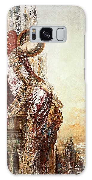 Symbolism Galaxy Case - Angel Traveller by Gustave Moreau