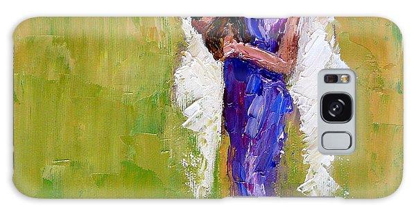 Angel Galaxy Case - Angel With Dog by Judy Mackey