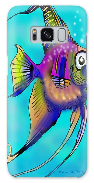 Angelfish Galaxy Case by Kevin Middleton