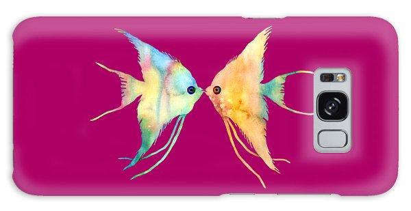 Angelfish Kissing Galaxy Case