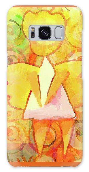 Angelino Yellow Galaxy Case