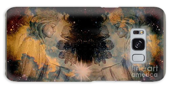 Angels Administering Spiritual Gifts Galaxy Case by Leanne Seymour