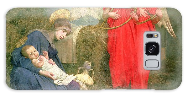Holiday Galaxy Case - Angels Entertaining The Holy Child by Marianne Stokes