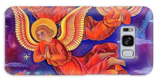 Annunciation Galaxy Case - Angels by Jane Tattersfield