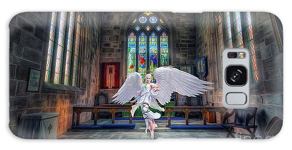 Angels Love And Guidance Galaxy Case