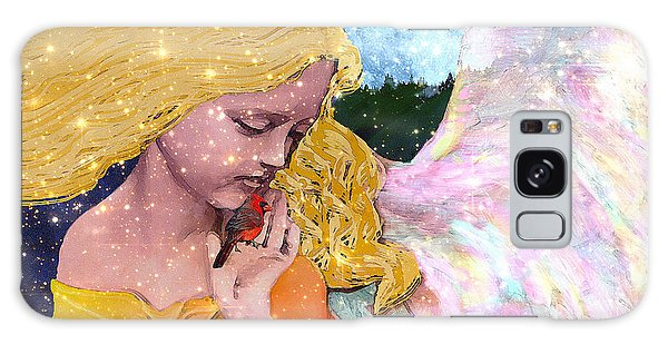 Angels Protect The Innocents Galaxy Case