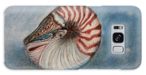 Angel's Seashell  Galaxy Case by Kim Nelson