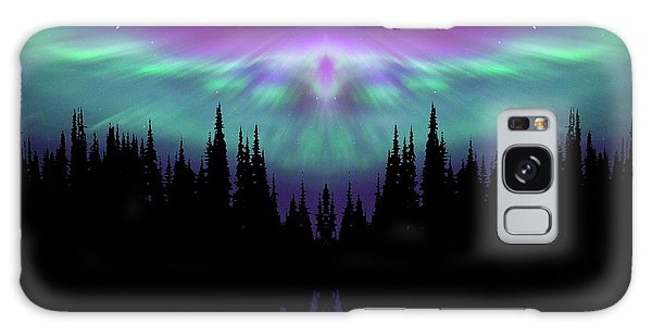Angels Watching Over You Galaxy Case by Andrea Kollo