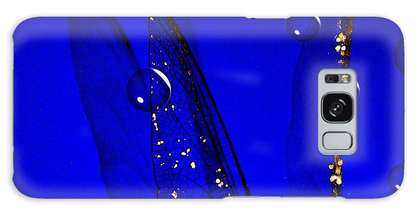 Angels Wings Blue Galaxy Case