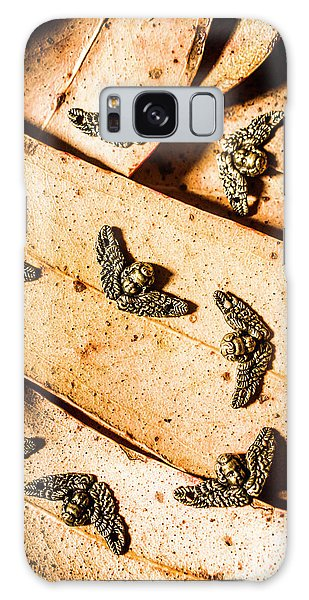 Metal Leaf Galaxy Case - Angels With Wings by Jorgo Photography - Wall Art Gallery