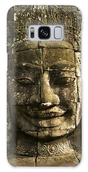 Angkor Wat Face Galaxy Case