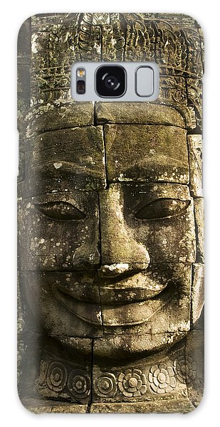 Angkor Wat Face Galaxy Case
