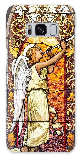 Angel In Glass Galaxy Case