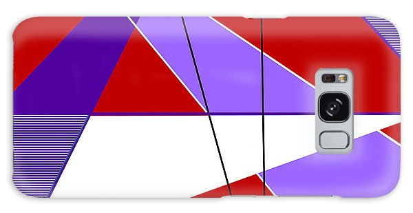 Angles And Triangles Galaxy Case