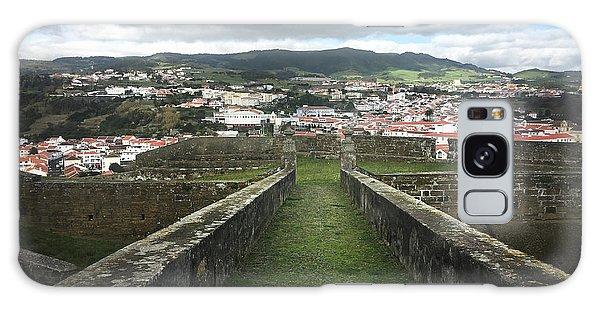 Angra Do Heroismo From The Fortress Of Sao Joao Baptista Galaxy Case