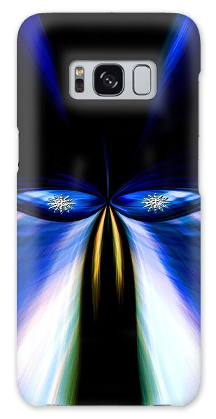 Angry Blue Bird Galaxy Case