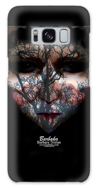 Angry Monster Child #4 Galaxy Case by Barbara Tristan