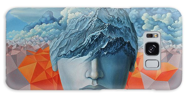 Strange Clouds Galaxy Case - Angst by Ciprian Mihailescu