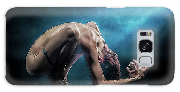 Galaxy Case featuring the photograph Anguished by Rikk Flohr