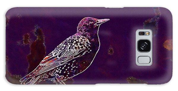 Galaxy Case featuring the digital art Animal Avian Bird Feathers Nature  by PixBreak Art