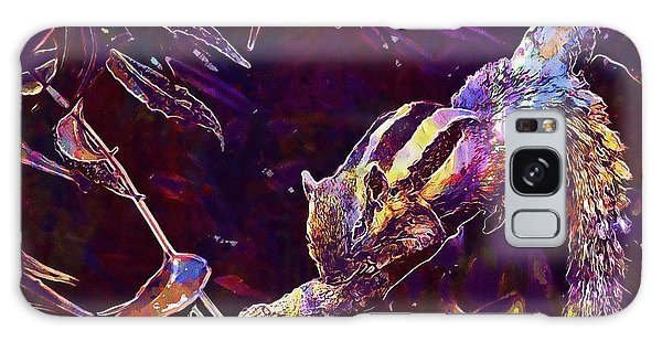 Galaxy Case featuring the digital art Animal Branches Leaves Mammal  by PixBreak Art
