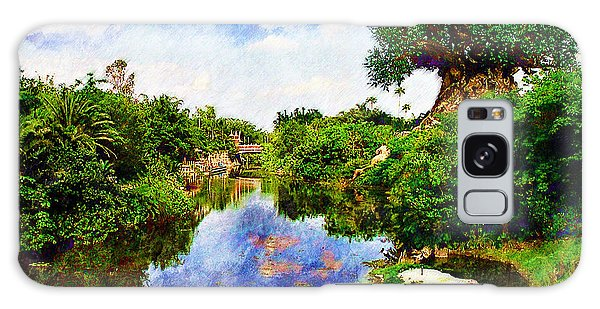 Animal Kingdom Tranquility Galaxy Case