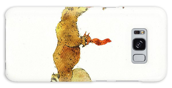 Squirrel Galaxy Case - Animal Letter by Juan Bosco