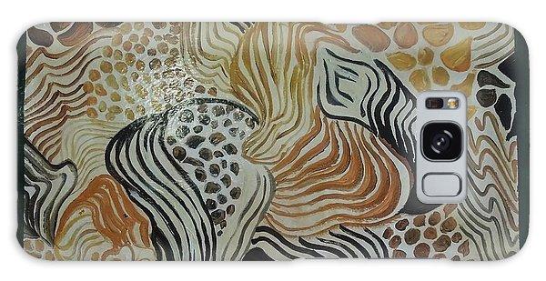 Animal Print Floor Cloth Galaxy Case