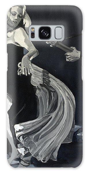 Anita Dancing Barefoot Galaxy Case