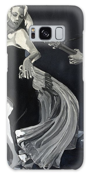 Anita Dancing Barefoot Galaxy Case