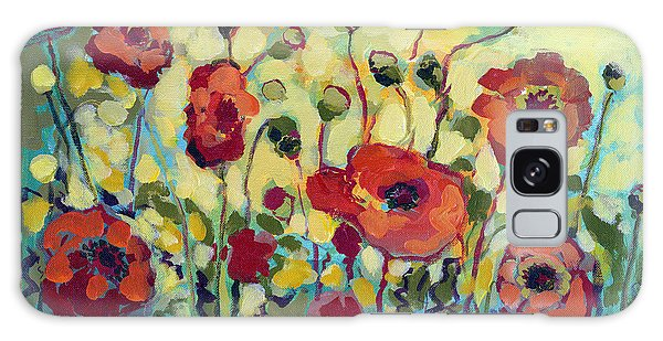 Impressionist Galaxy Case - Anitas Poppies by Jennifer Lommers