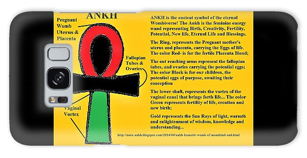 Ankh Meaning Galaxy Case