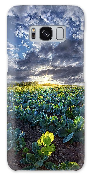 Cabbage Galaxy S8 Case - Ankle High In July by Phil Koch