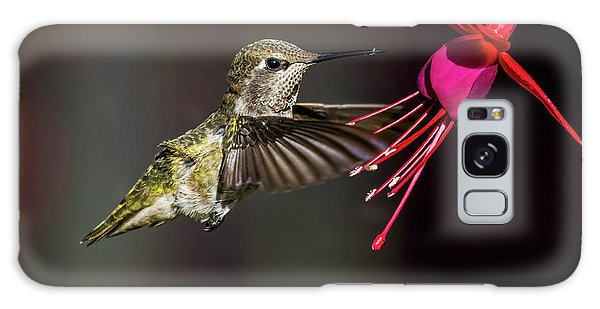 Anna Juvenile Hummingbird Galaxy Case