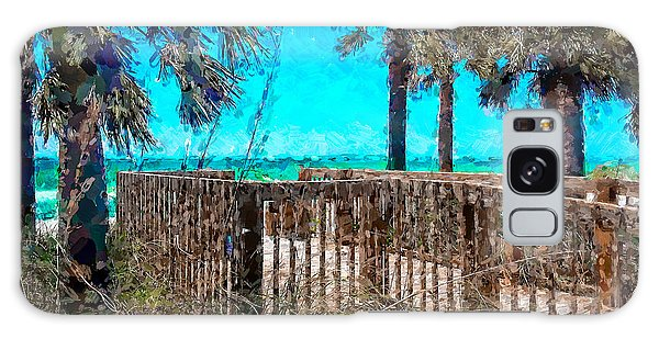 Anna Maria Boardwalk Access Galaxy Case
