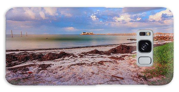 Galaxy Case featuring the photograph Anna Maria City Pier by Doug Camara