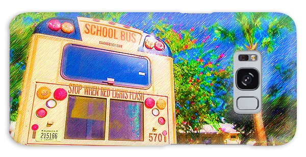 Anna Maria Elementary School Bus C131270 Galaxy Case