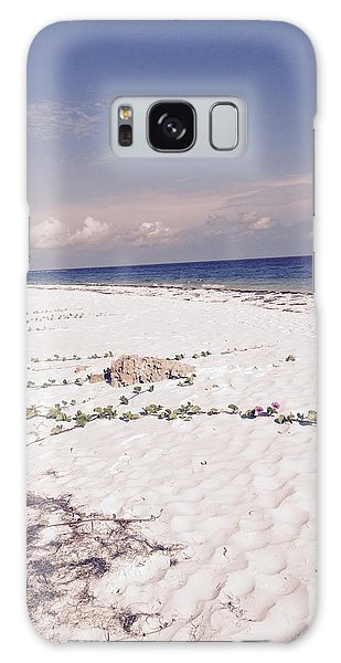 Anna Maria Island Beyond The White Sand Galaxy Case by Jean Marie Maggi