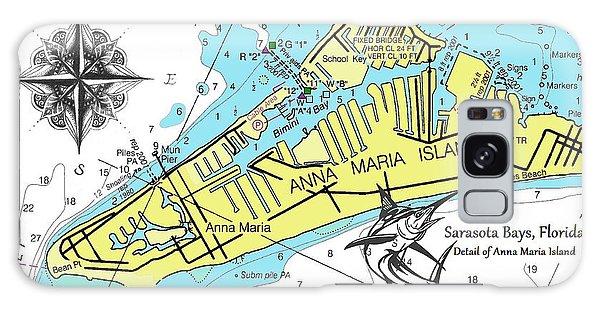 Anna Maria Island Galaxy Case