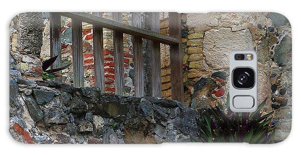 Annaberg Ruin Brickwork At U.s. Virgin Islands National Park Galaxy Case by Jetson Nguyen