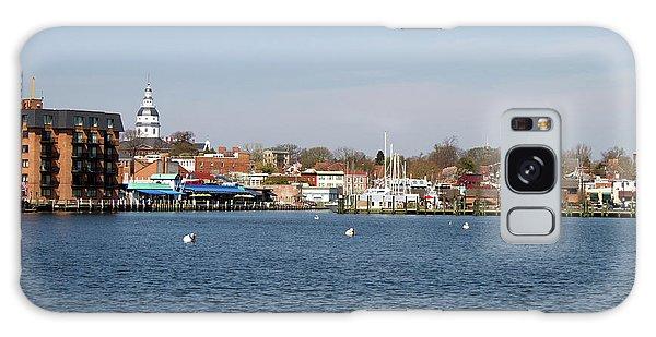 Annapolis City Skyline Galaxy Case