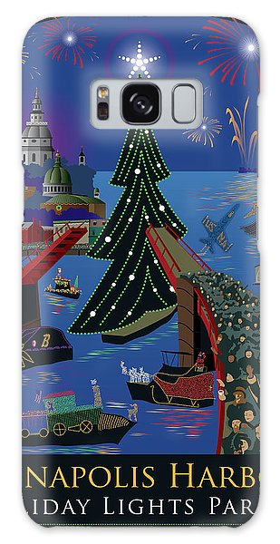 Annapolis Holiday Lights Parade Galaxy Case