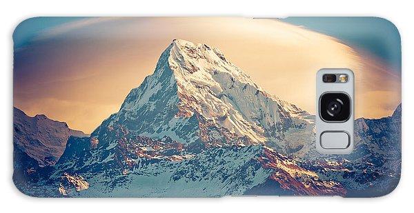 Annapurna Sunrise Himalayas Mountains Galaxy Case