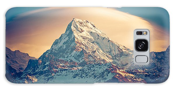 Annapurna Sunrise Himalayas Mountains Galaxy Case