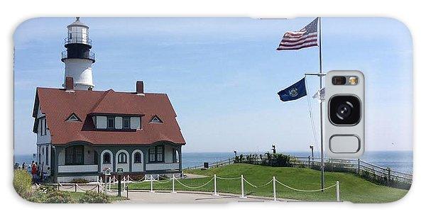 Portland Lighthouse ----- Edit Galaxy Case