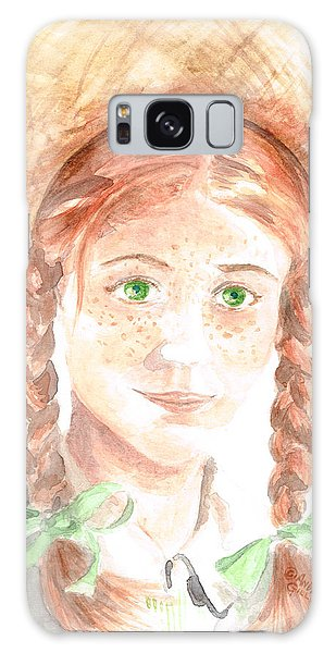 Anne Of Green Gables Galaxy Case by Andrew Gillette